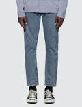Denim By Vanquish & Fragment Long Stone Wash Tapered Denim Jeans Picture