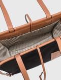 Loewe Cushion Tote Bag Black/tan Women