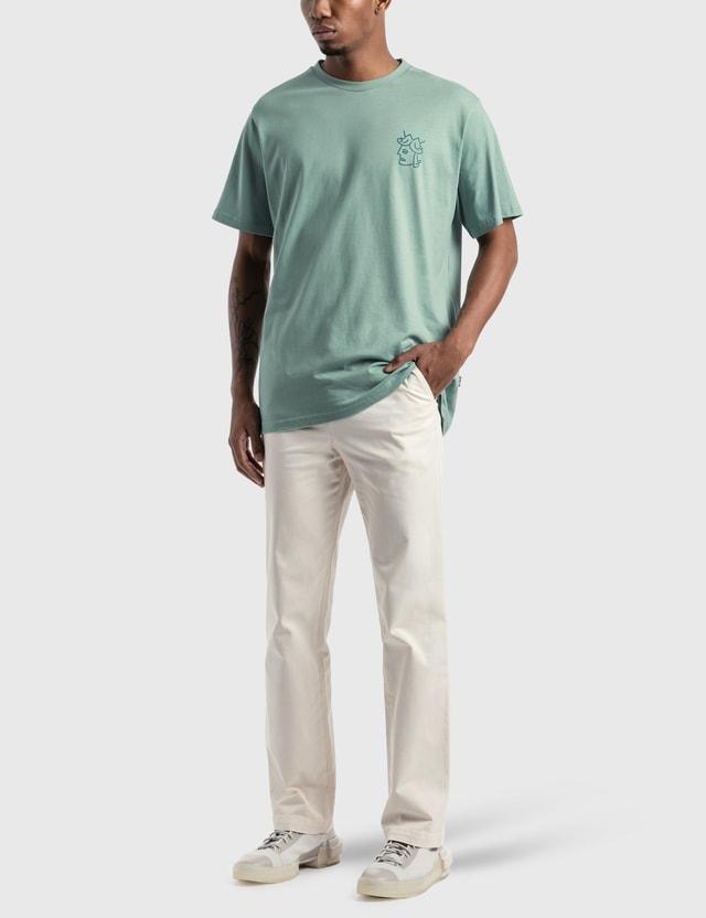 Victoria Queenhead Logo T-Shirt Seafoam / Turquoise Men