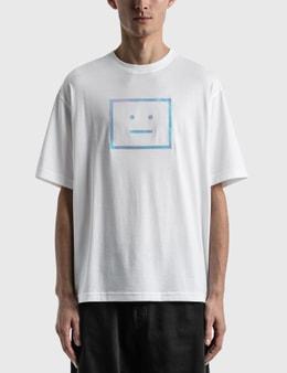 Acne Studios Exford Metallic Face T-shirt