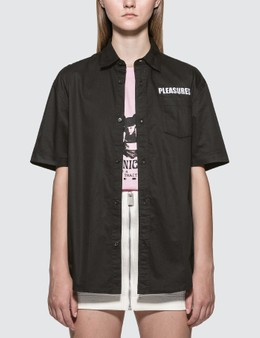 Pleasures Transformer Button-Up Shirt