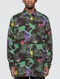 Vyner Articles Hawaii Halloween Digital Print Shirt Picture