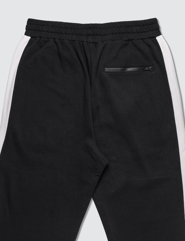 MSGM Side Taping Sweatpants Black Men