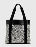 Saint Laurent Zebra Shopping Bag White/black Men