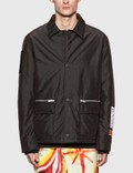 Heron Preston Zip Pocket Coach Jacket Picture