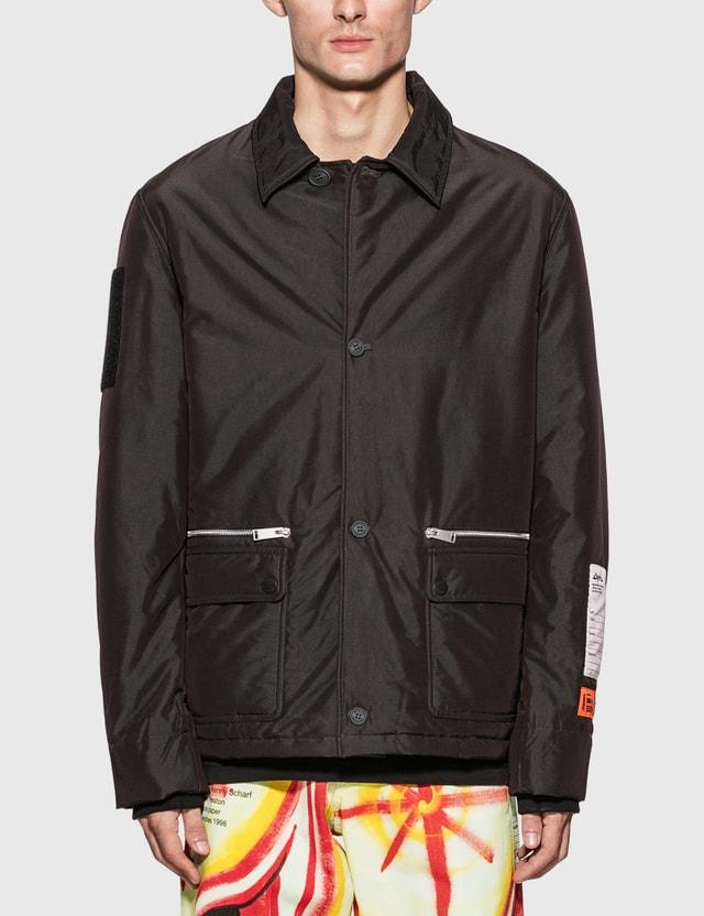 Heron Preston Zip Pocket Coach Jacket