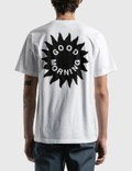 Good Morning Tapes Sun Logo T-Shirt White Men