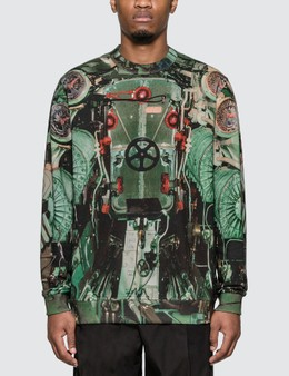 Burberry Submarine Print Cotton Sweatshirt