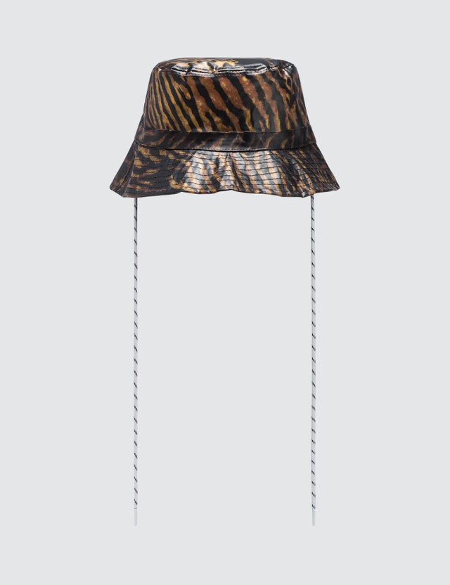 Ganni Biodegradable Tiger Bucket Hat