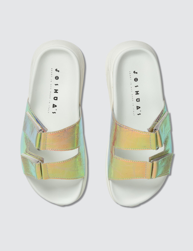 Joshua Sanders Boing Light Holo Sandals