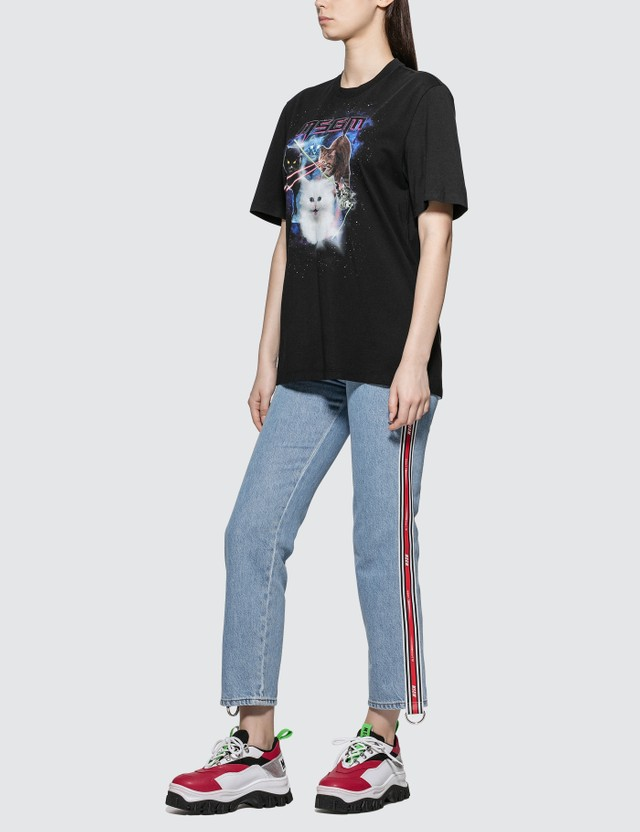 MSGM Cats Graphic Print T-shirt