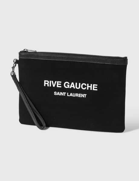 생 로랑 Saint Laurent RIVE GAUCHE Zippered Pouch