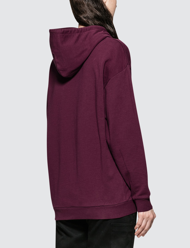 Carhartt Work In Progress W' Hooded Wip Division Sweatshirt Red Women