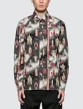 Maison Kitsune All-Over Dream Amplifier Classic Shirt Picutre