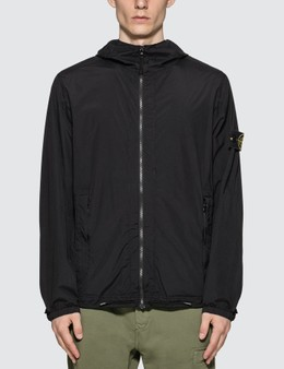 Stone Island Skin Touch Nylon Packable Zip Jacket