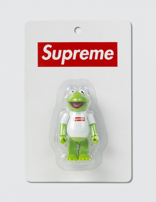 Supreme Supreme x Medicom Toy Kermit The Frog Kubrick Green/white Archives