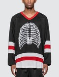 Pleasures Ribs Hockey Jersey Picture