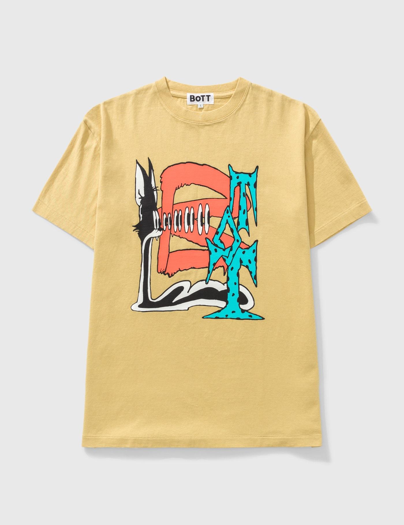 Bott Shock T-shirt In Yellow