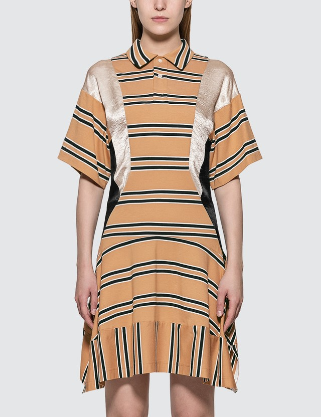 KOCHÉ Fitted Polo Dress
