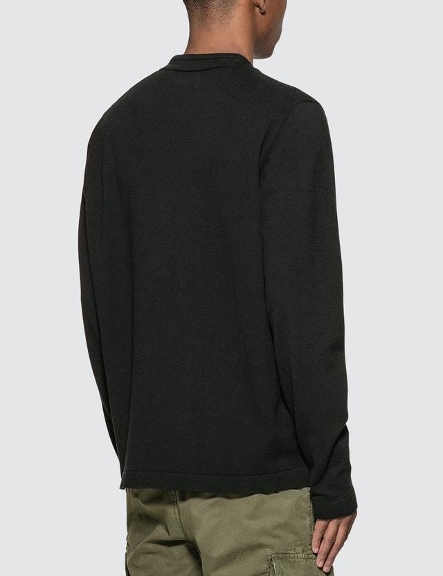 Stone Island Stretch Cotton Knit Sweater