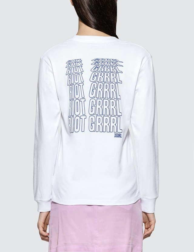 X-Girl Riot Grrrl Long Sleeve T-shirt