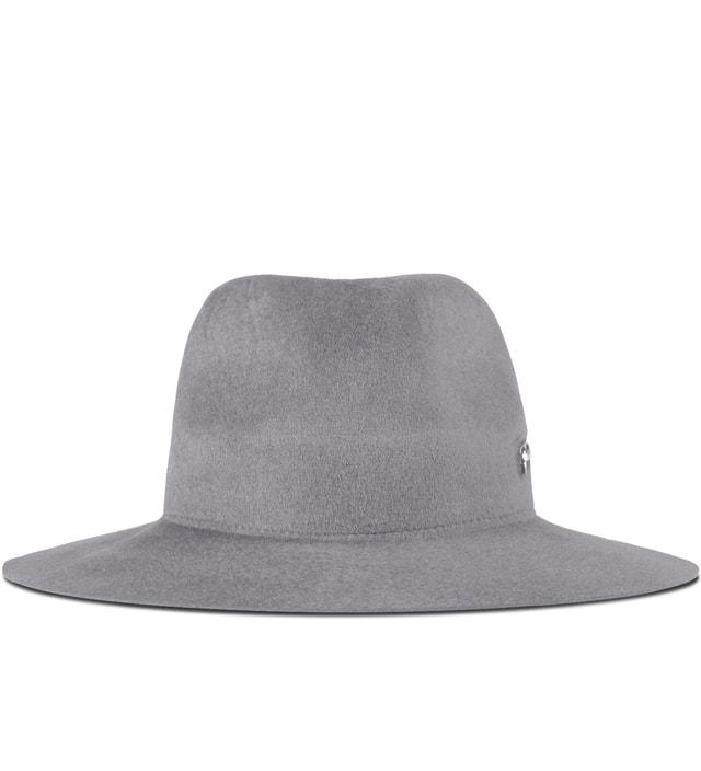 Larose Light Grey Zip Option Hat