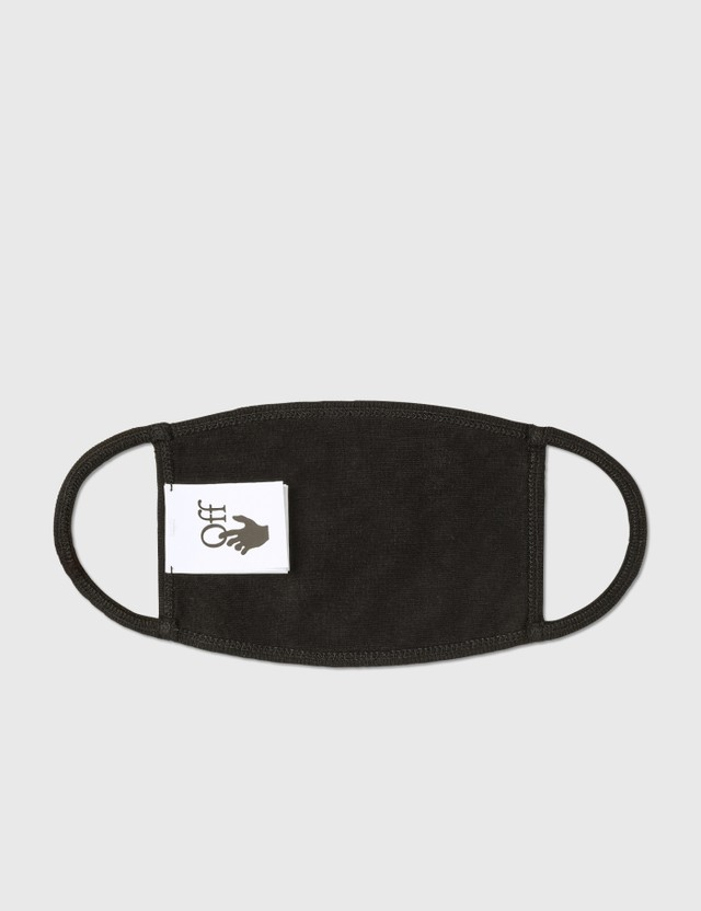 Off-White Apple Mask Black Red Unisex