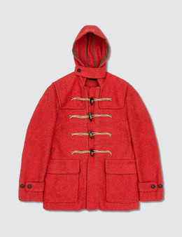 DSQUARED2 Mix Wool Coat
