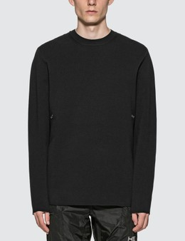Heliot Emil Logo Knit Sweater