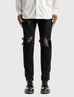 Takahiromiyashita Thesoloist Grunge Jeans