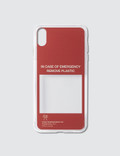 Urban Sophistication In Case Of Emergency Iphone Cover Picutre