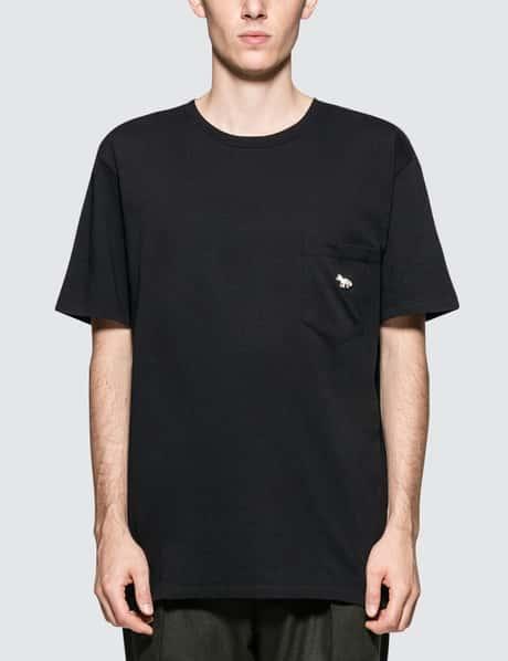 메종 키츠네 Maison Kitsune Quadri Fox S/S T-Shirt