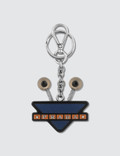 Prada Robot Eyes Key Chain