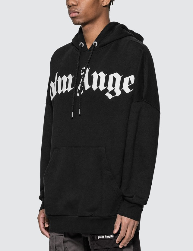 Palm Angels Front Over Logo Hoody