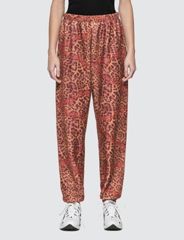 Aries Leopard Chain Fleece Pants