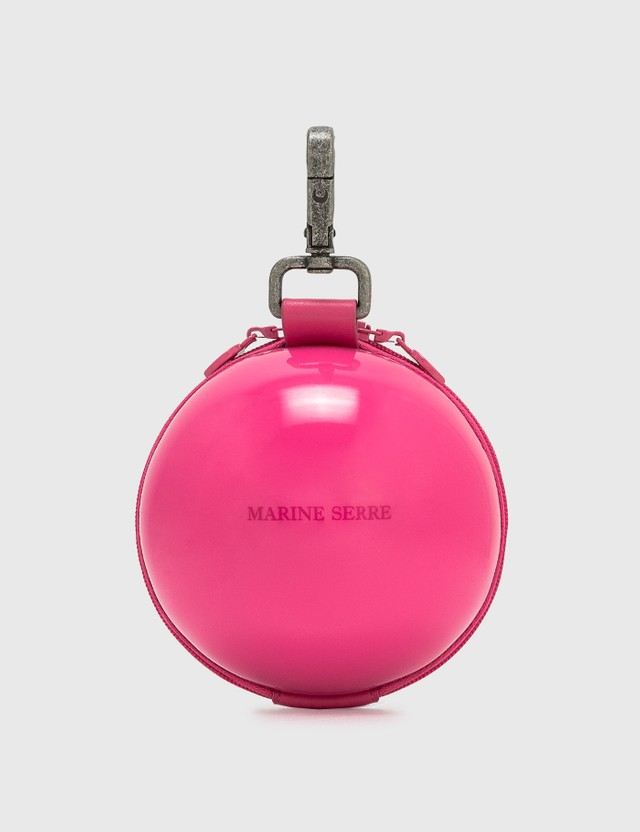 Marine Serre Micro Ball Bag 7 Fuchsia Women