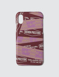Heron Preston Tape iPhone X Cover Picutre