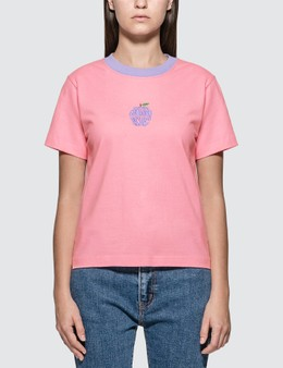 X-Girl Apple Embroidery T-shirt