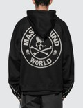 Mastermind World Glitter Skull Logo Oversized Full-Zip Hoodie