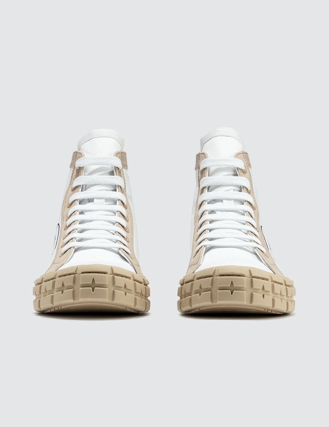 Prada Gabardine Bicolor Sneaker
