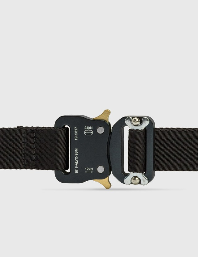 1017 ALYX 9SM Medium Rollercoaster Belt Black Women
