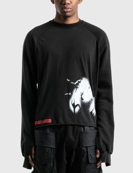 Rick Owens Drkshdw Vega Combo Long Sleeve T-Shirt