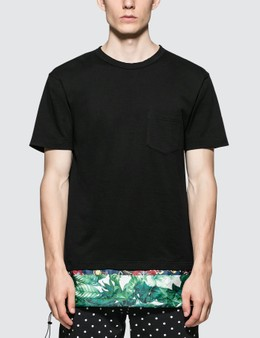 SOPHNET. Panel Layered Pocket T-Shirt
