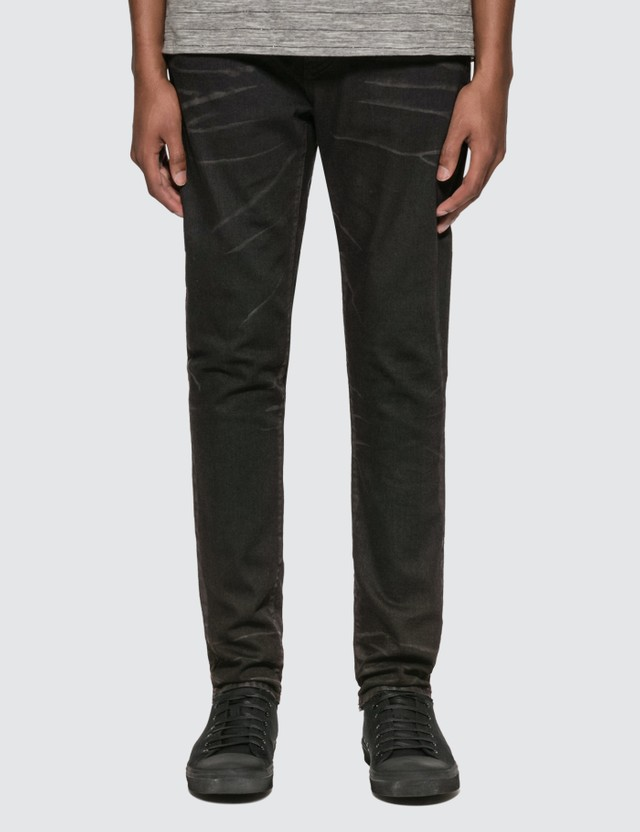 Saint Laurent Cropped Mid-Rise Skinny Jeans Black  Men