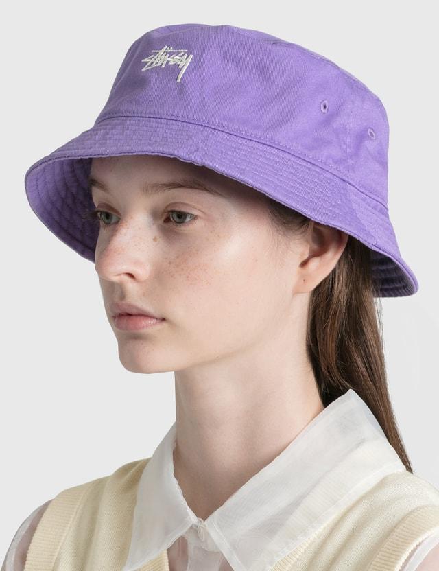 Stussy Stock Bucket Hat Viol Women