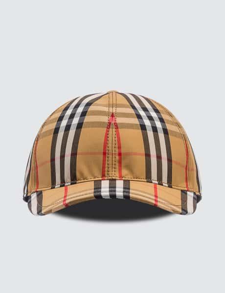 버버리 모자 우먼 빈티지 체크 볼캡 (서현진, 크리스탈, 산다라박 착용) Burberry Vintage Check Baseball Cap