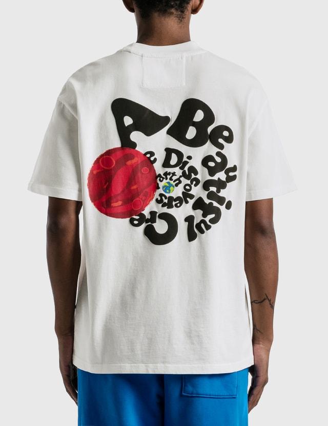 Earthling Collective Back Slogan Oversize T-shirt White Men