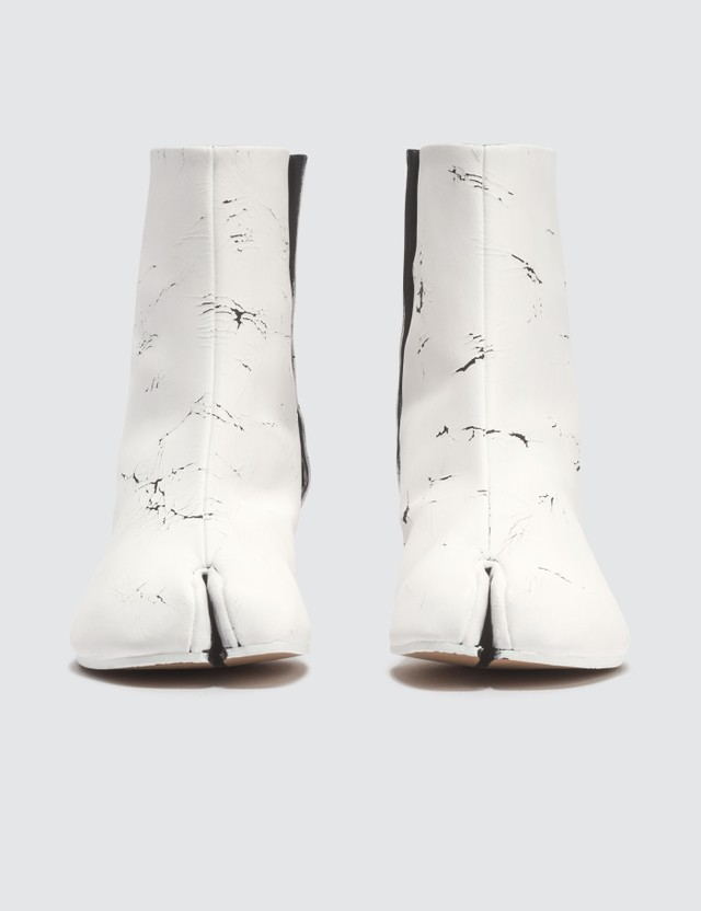 Maison Margiela Tabi Paint Finish Ankle Boots