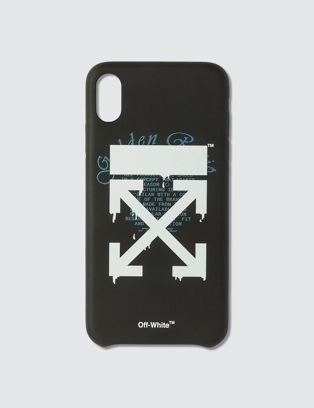 Off-White Dripping Arrows iPhone Xs Max Case