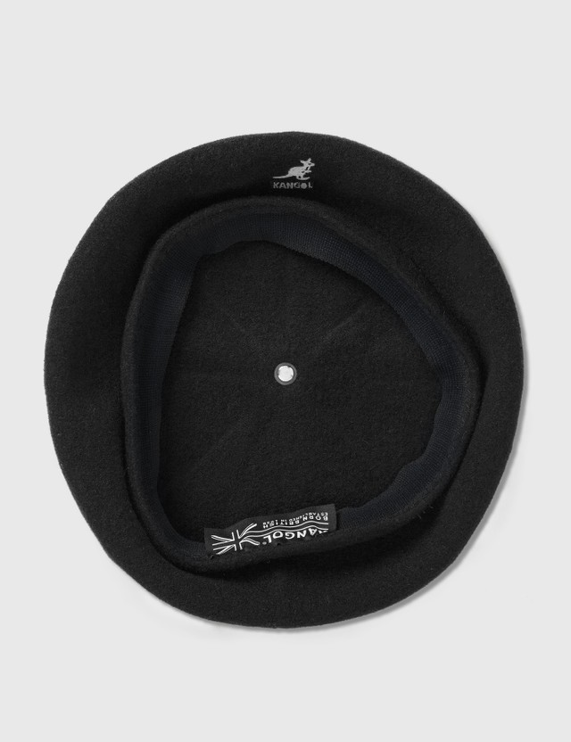 Kangol Wool Jax Beret Black Men